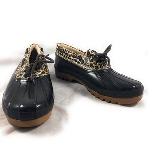 Sperry Top Sider Duck Boots Sz 10 Low Animal nice